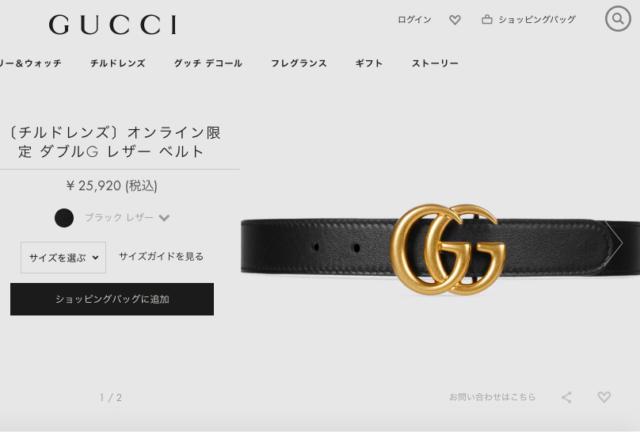 online store ab02e b2e7a 織田奈那の彼氏のGUCCIベルトの値段はいくら? | かりかりブログ